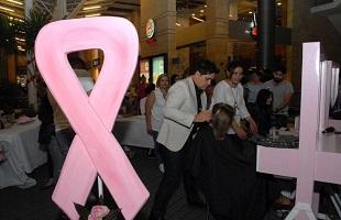 حملة للتبرع بالشعر لمرضى السرطان بمشاركة مجموعة من  مزينين شعر نسائي وأبرزهم المزين اللبناني والعالمي