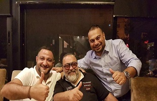 مطعم Kobe يستضيف SHADY AND THE BAND ويحتفل بميلاد السيد فادي الدنب بحضور مجموعة من الوجوه الاعلامية والصحافية و الفنية